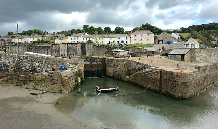 Charlestown, Cornwall.
