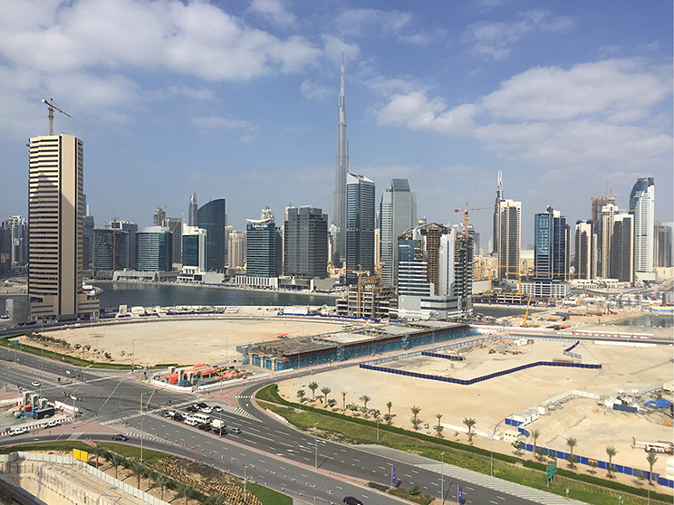 Metromed Office View Dubai