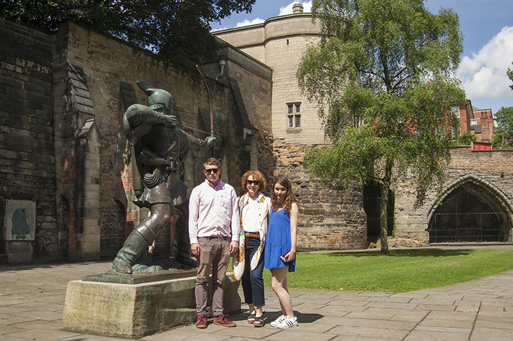 Nottingham Castle June 2016
